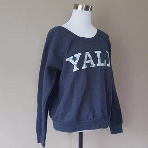 Sweatshirt Yale Large Blue